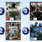 Top 10 games charts for the week ended 9 July