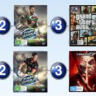 Top 10 games charts for the week ended 6 August 2017