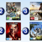 Top 10 games for the week ended 13 August 2017