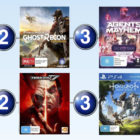 Top 10 games charts for the week ended 20 August 2017