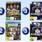 Top 10 games charts for the week ended 27 August 2017